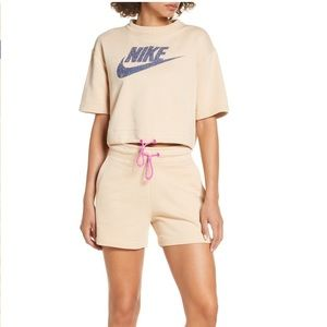 NWT Nike Sportwear Shorts Set Size 16